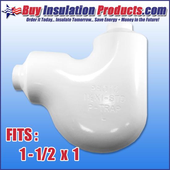 1-1/2 x 1 P-Trap Insulation Cover